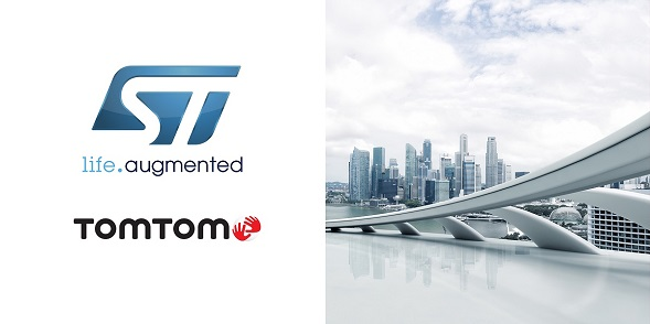 TomTom STMicroelectronics