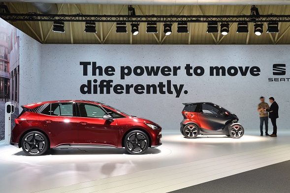SEAT rolls out its electric offensive in Barcelona 02 HQ