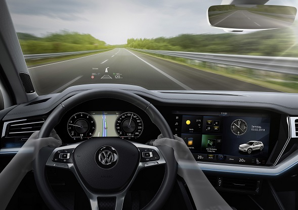 Volkswagem head up display 01